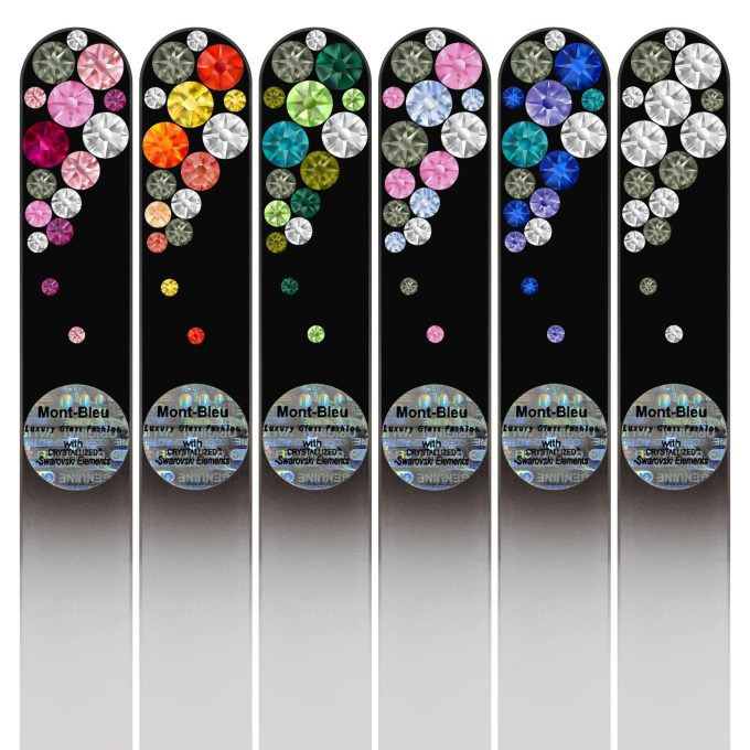 Set of 6 Glass Nail Files BB-M1-6
