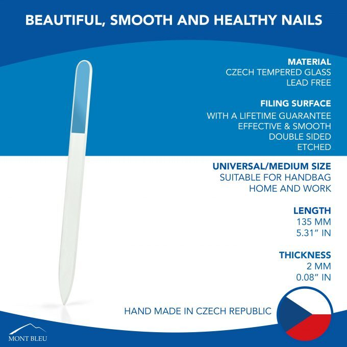 Clear Glass Nail File TM