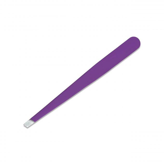 Slanted Tweezers Purple