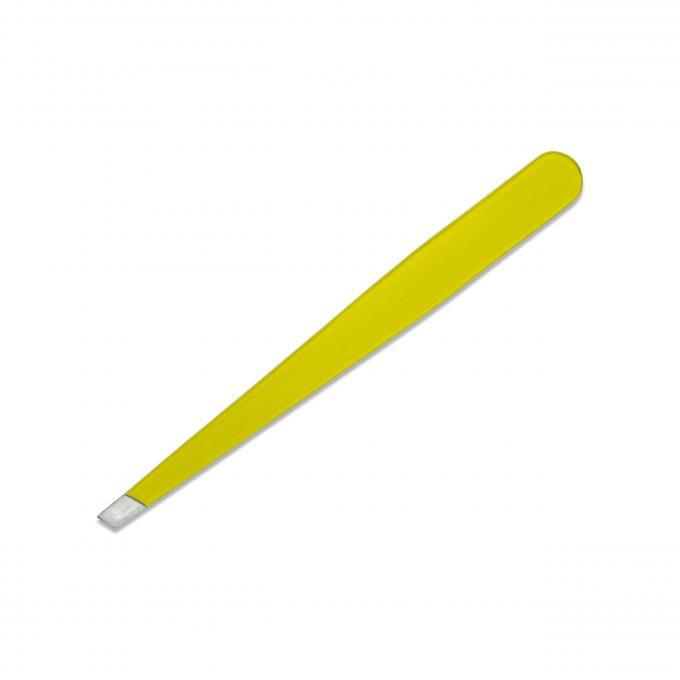 Slanted Tweezers Yellow