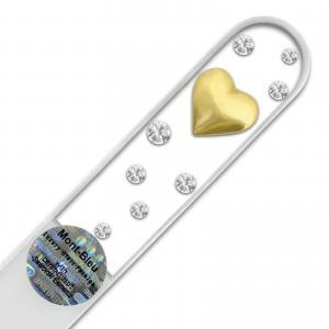 Heart Glass Nail File JW-G1