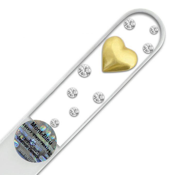 Heart Glass Nail File JW-G1