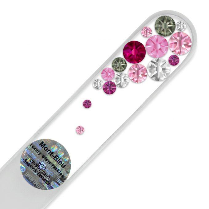 Swarovski crystal nail file B-M1-12