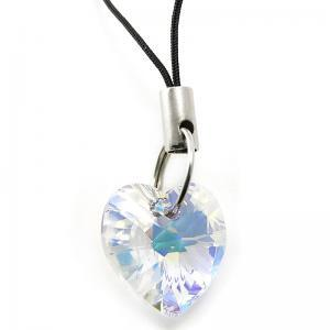 Heart Crystal AB mobile charm CMB1.4