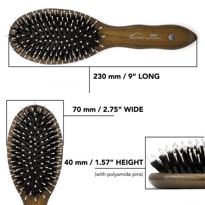 Boar Bristle Hair Brush 9045