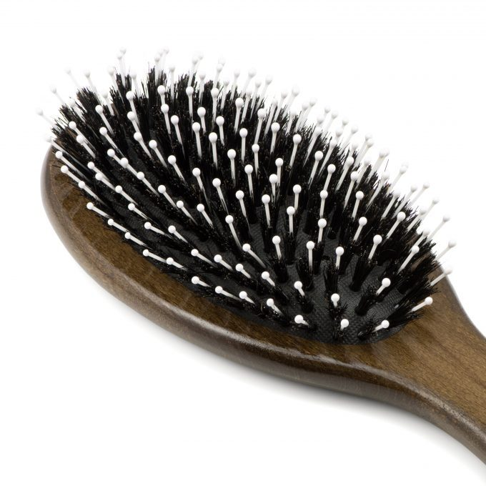 Boar Bristle Hair Brush 9045