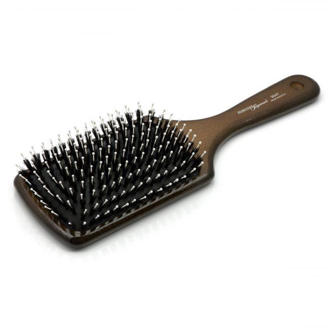 Boar Bristle Paddle Hair Brush 9047
