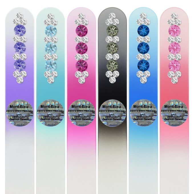Set of 6 Glass Nail Files ORC-M1-6