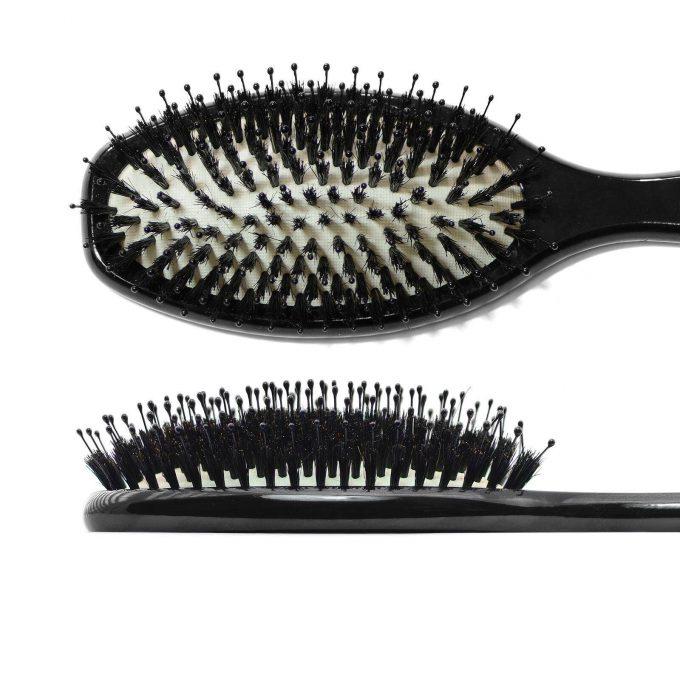 Dressing hair brush with boar bristles 9440