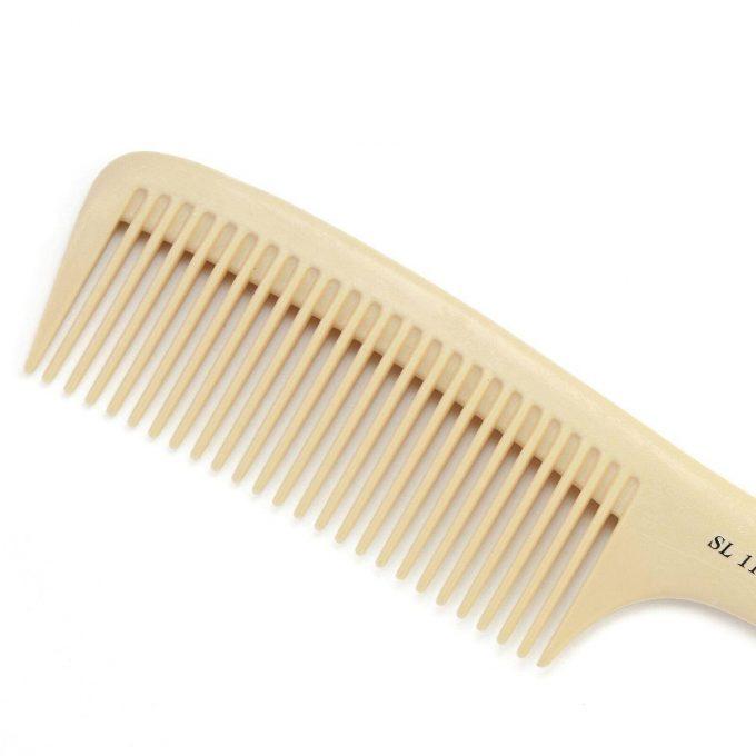 Silk handle comb for hair HS-SL11