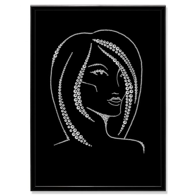 Crystal Art Picture Woman MBP-27