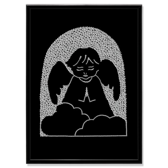 Crystal Art Picture Angel MBP-30