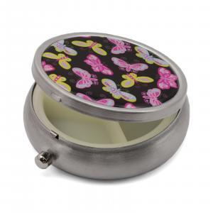 Pill Box with Butterflies Print