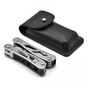 Giesen & Forsthoff's Timor Stainless Steel Mini Multitool with 9 Tools from Solingen, Germany