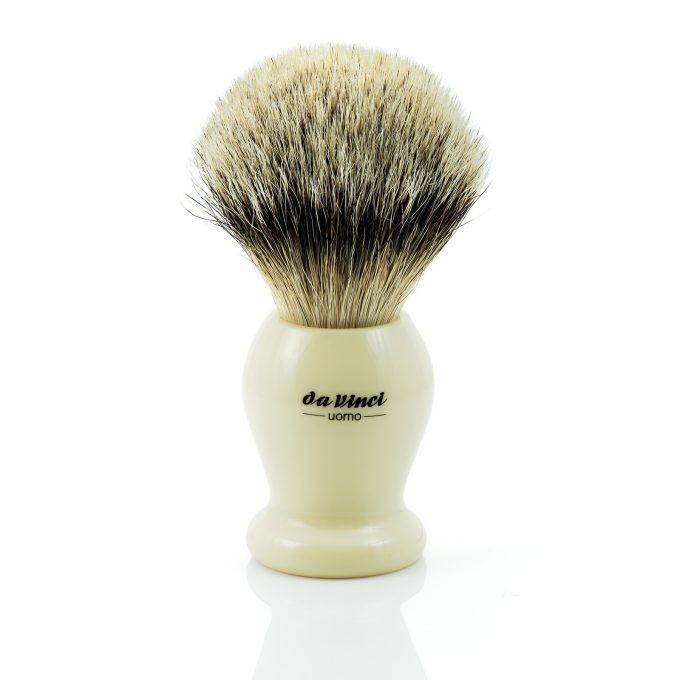 Da Vinci UOMO 294 Silvertip Badger Shaving Brush | ø22mm