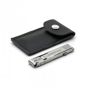 Otto Herder Folding Travel Nail Clippers, TSA friendly, Stainless Steel, made in Germany
