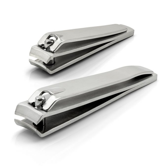 Hans Kniebes' Sonnenschein Set of 2 Nail Clippers, Stainless Steel