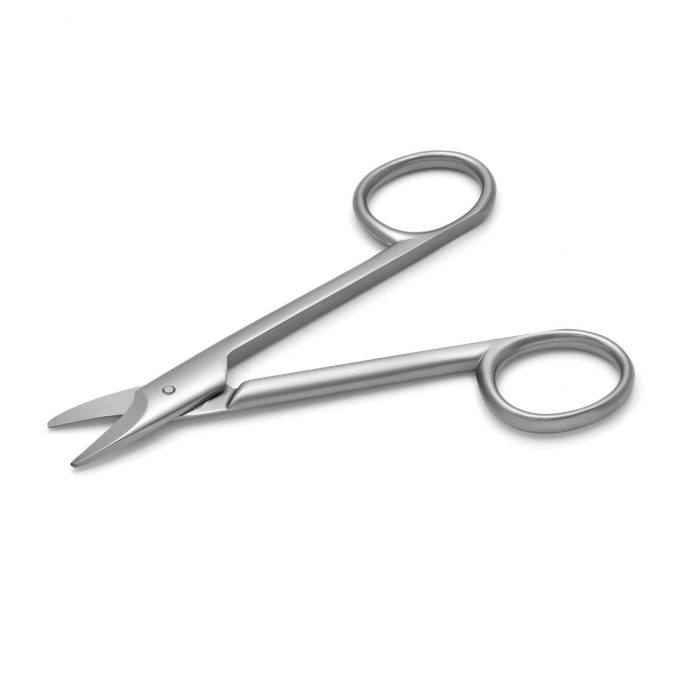 Hans Kniebes Foot Nail Scissors, Stainless Steel, made in Solingen (Germany)