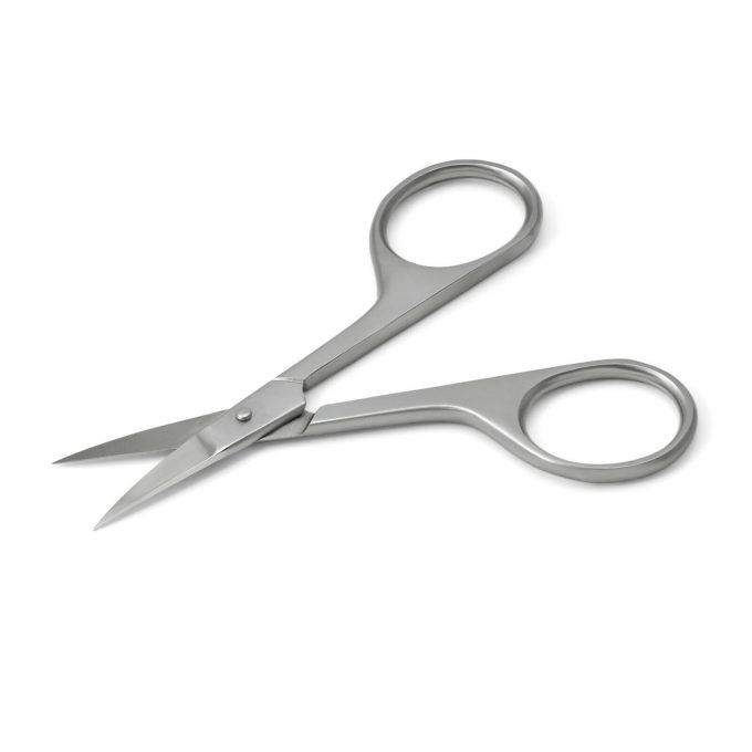 Otto Herder Nail Scissors, Stainless Steel, made in Germany