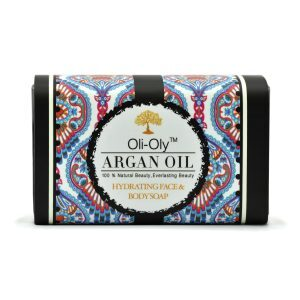 Oli-Oly Hydrating Face & Body Soap with Argan Oil, Unscented