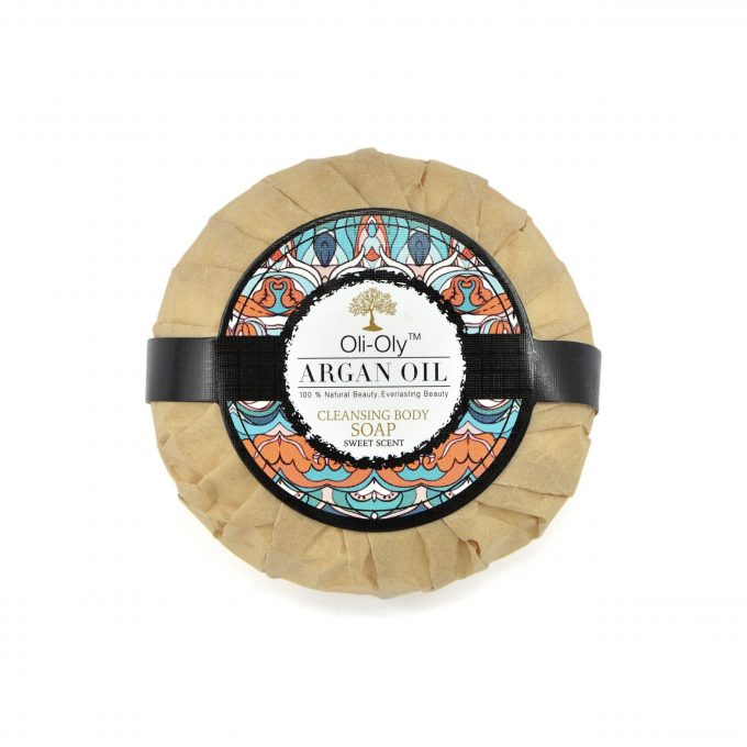 Oli-Oly Cleansing Body Soap with Argan Oil, Scented