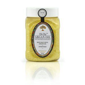 Oli-Oly Bath Salt with Argan Oil, 300g, Scented