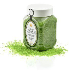 Oli-Oly Bath Salt with Cannabis Oil, 300g
