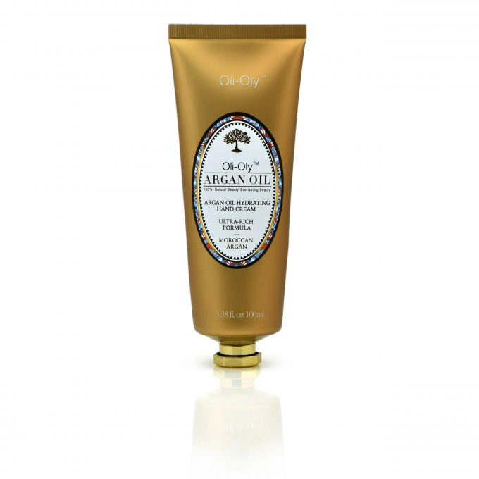 Oli-Oly Hydrating Hand Cream with Argan Oil, 100ml, Unscented