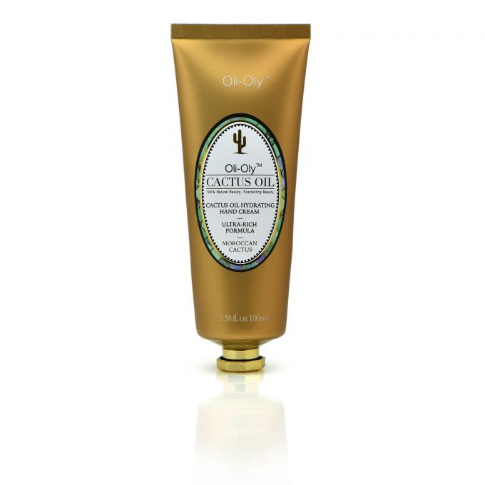 Oli-Oly Hydrating Hand Cream with Cactus Oil, 100ml