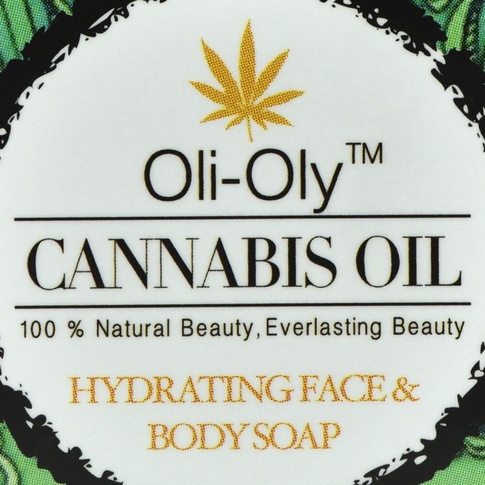 Oli-Oly Hydrating Face & Body Soap with Cannabis Oil
