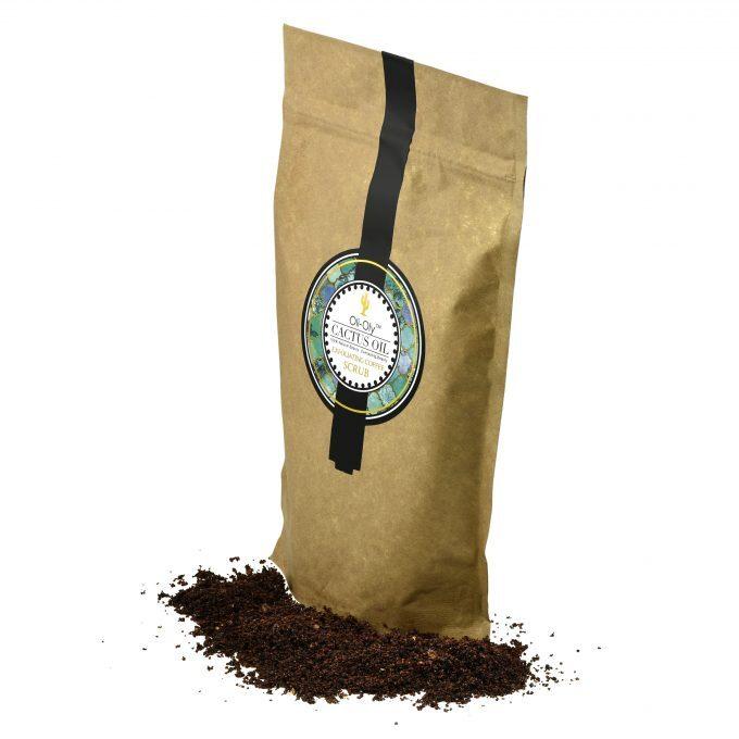 Oli-Oly Exfoliating Coffee Scrub with Cactus Oil, 150g