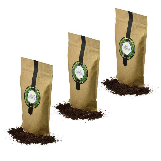 Oli-Oly Exfoliating Coffee Scrub with Cannabis Oil, 150g