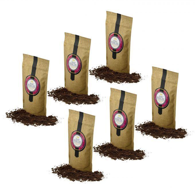 Oli-Oly Exfoliating Coffee Scrub with Rose Oil, 80g