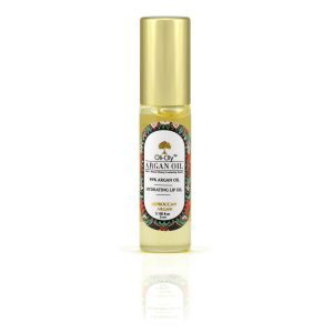 Oli-Oly Hydrating Lip Oil with 99% Argan Oil, 5 ml, Sweet Scent