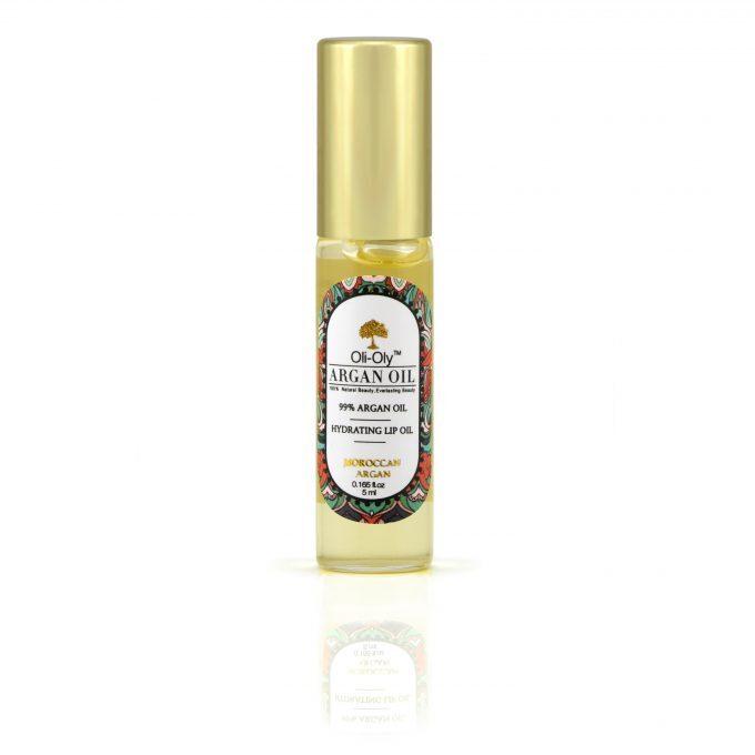 Oli-Oly Nawilżający Olejek do Ust z 99% Olejem Arganowym, 5 ml, Słodki Zapach