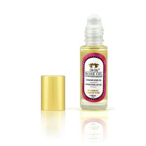 Oli-Oly Hydrating Lip Oil with Rose Oil, 5 ml, Sweet Scent