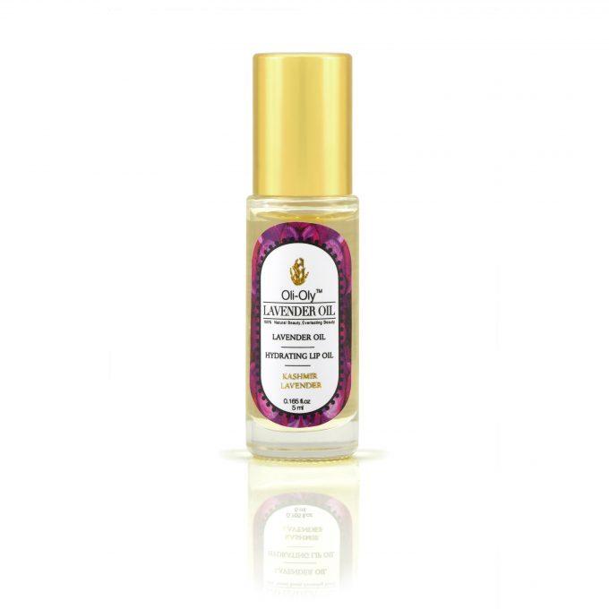 Oli-Oly Nawilżający olejek do ust z olejkiem lawendowym, 5 ml