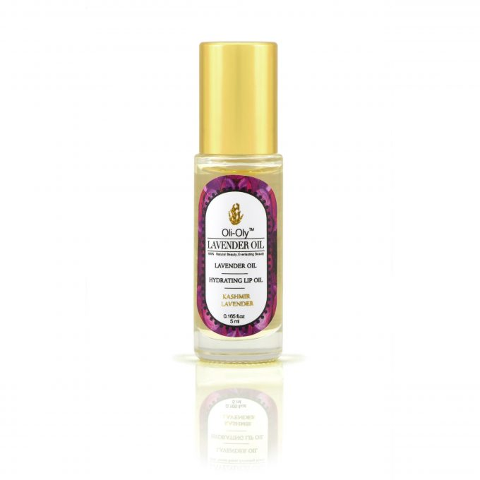 Oli-Oly Hydrating Lip Oil with Lavender Oil, 5 ml