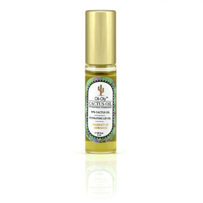 Oli-Oly Nawilżający Olejek do Ust z 99% Olejem Kaktusowym, 5 ml