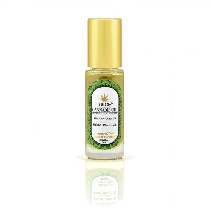 Oli-Oly Nawilżający olejek do ust z 99% olejem z konopi, 5 ml