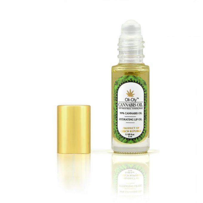 Oli-Oly Hydrating Lip Oil with 99% Cannabis Oil, 5 ml