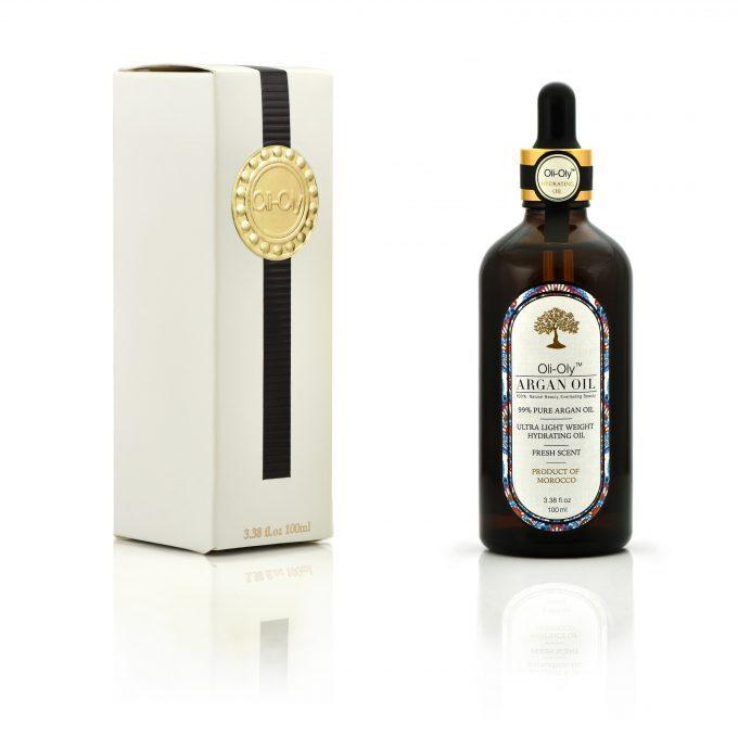 Oli-Oly 99% Olejek Arganowy do Włosów, Twarzy i Ciała, 100 ml, Świeży Zapach