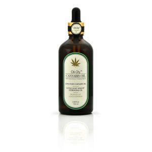 Oli-Oly Pure Cannabis Oil for Hair, Face and Body Skin, 100 ml, Unscented