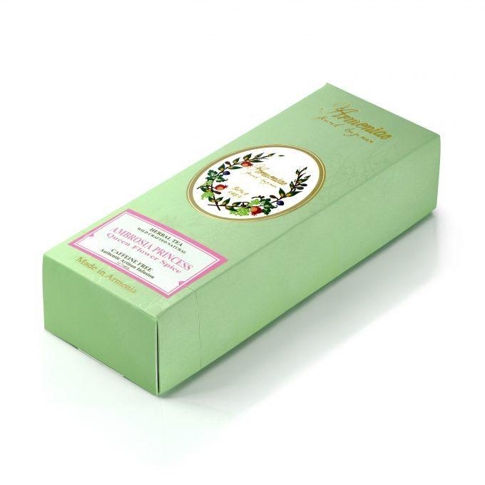 Armeniac Ambrosia Princess – 100% Natural Wild Crafted Loose Leaf Herbal Tea in a T-Stick