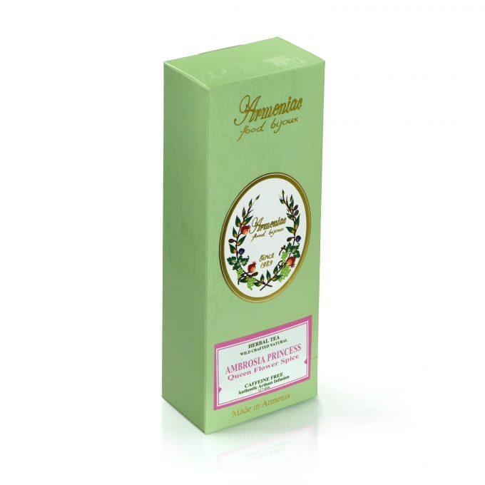 Armeńska Ambrosia Księżniczka – 100% Naturalna Dzika Rzemieślnicza Herbata Ziołowa z Luźnych Liści w T-Stick