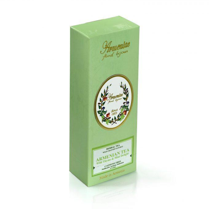 Herbata ormiańska z Armenii – 100% naturalna, dziko wytworzona herbata ziołowa z luźnych liści w T-Stick