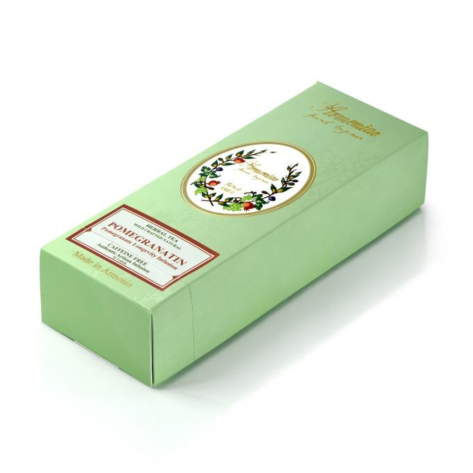 Armeniac Pomegranatin – 100% Natural Wild Crafted Loose Leaf Herbal Tea in a T-Stick
