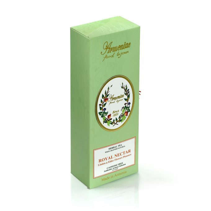 Armeniac Royal Nectar – 100% naturalna, dzika, sypana herbata ziołowa w T-Stick