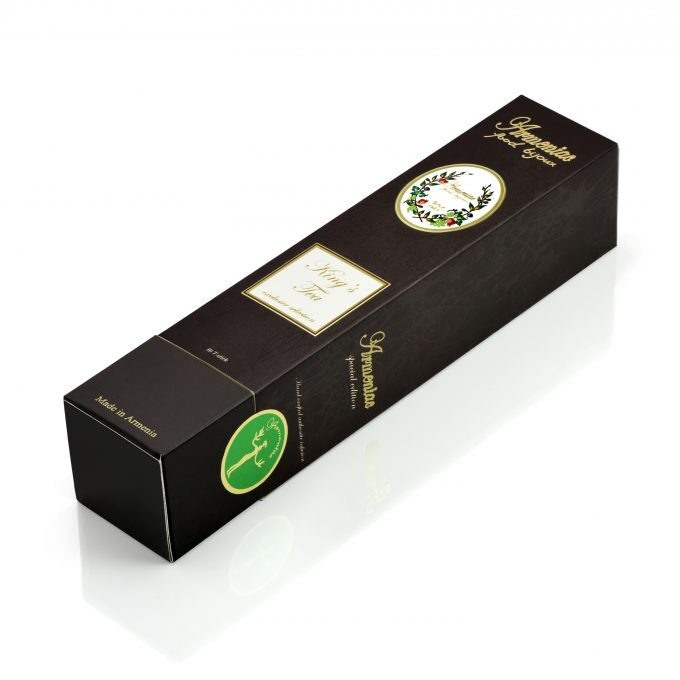 Armeniac King's Tea – 100% Natural Wild Crafted Loose Leaf Herbal Tea in a T-Stick