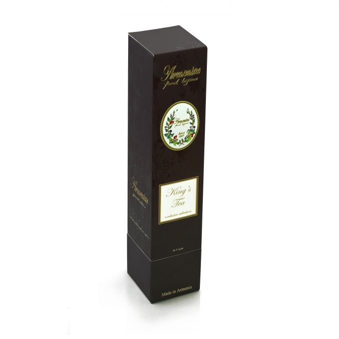 Herbata Armeniac King's - 100% Naturalna Dzika Rzemieślnicza Herbata Ziołowa z Luźnych Liści w T-Stick
